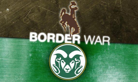 Colorado State vs. Wyoming State border war
