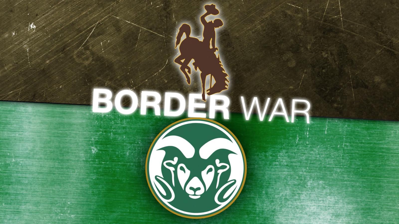 Colorado State vs. Wyoming State border war