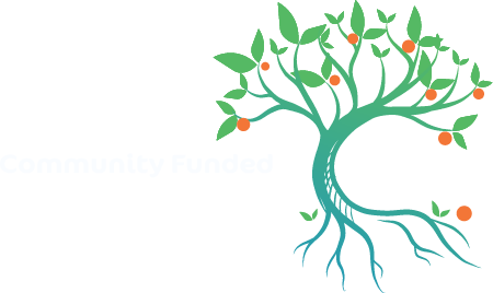 Community Funded fundraising software tree with roots