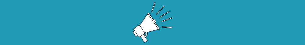 icon image of a megaphone suggesting that your digital marketing message needs to be shouted to the world
