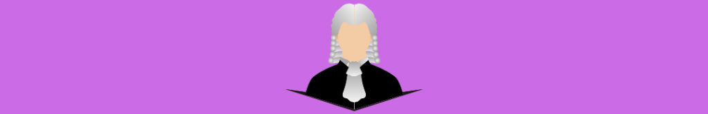 image of a judge, related to crowdfunding regulations